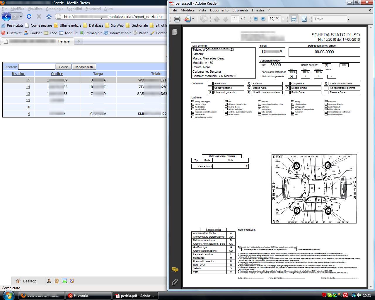Gestionale web auto armadillo for Programma per vedere telecamere da remoto