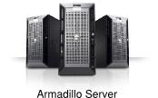 Server Armadillo