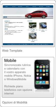 Gestionale Web Auto Armadillo - IPhone - Nokia - WindowsMobile
