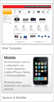 Gestionale Web E-commerce Armadillo - IPhone - Android -  WindowsMobile