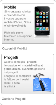 Gestionale Web Servizi Armadillo - IPhone - Nokia -  WindowsMobile