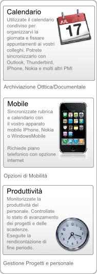 Gestionale Web Ufficio Armadillo - IPhone - Android - WindowsMobile
