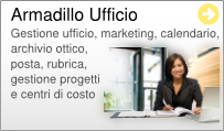 Gestionale Web Ufficio Armadillo