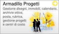 Gestionale Web Progetti Armadillo